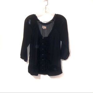 3 for $25 SALE Gilly Hicks Sheer Blouse